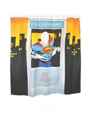 Superman Cortina de la ducha Telephone Box