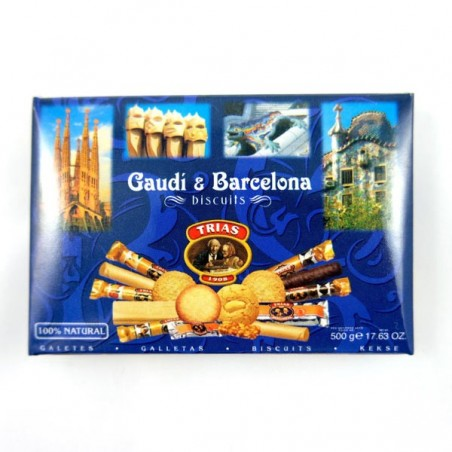 Imán nevera BISCUITS Gaudi & Barcelona