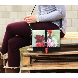Bolso mini Disaster Designs FLORES AL OLEO