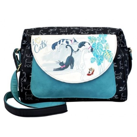 Bolso Disaster Designs I LOVE CATS